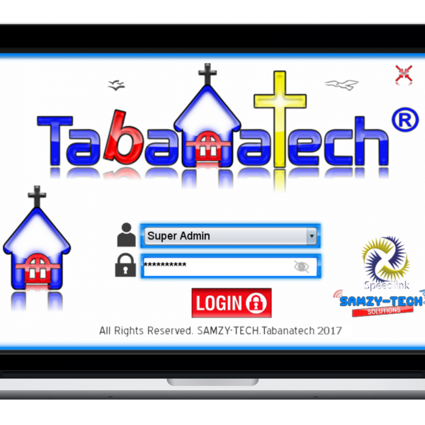 Tabanatech - Church Management Software (Desktop Version)